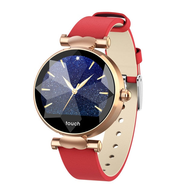 Smart Watch Women luxury Bluetooth Fashion Lady Smart Bracelet Heart Rate Monitor Fitness Tracker Female Smart Wristband Watch