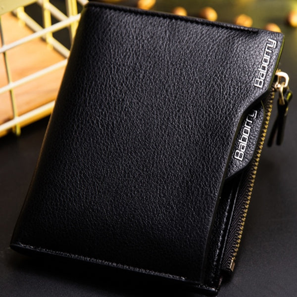 Hot Fashion Men Wallet with Coin Pocket Wallet ID Card holder Purse Clutch with zipper Men Wallet T051