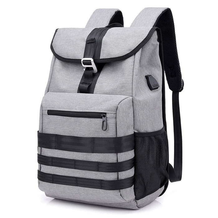 Dropshipping No Invoice/Promotion France Men Women 17 15.6 Inch Laptop Backpack Bag USB Charge Man Male Smart Travel Backpack