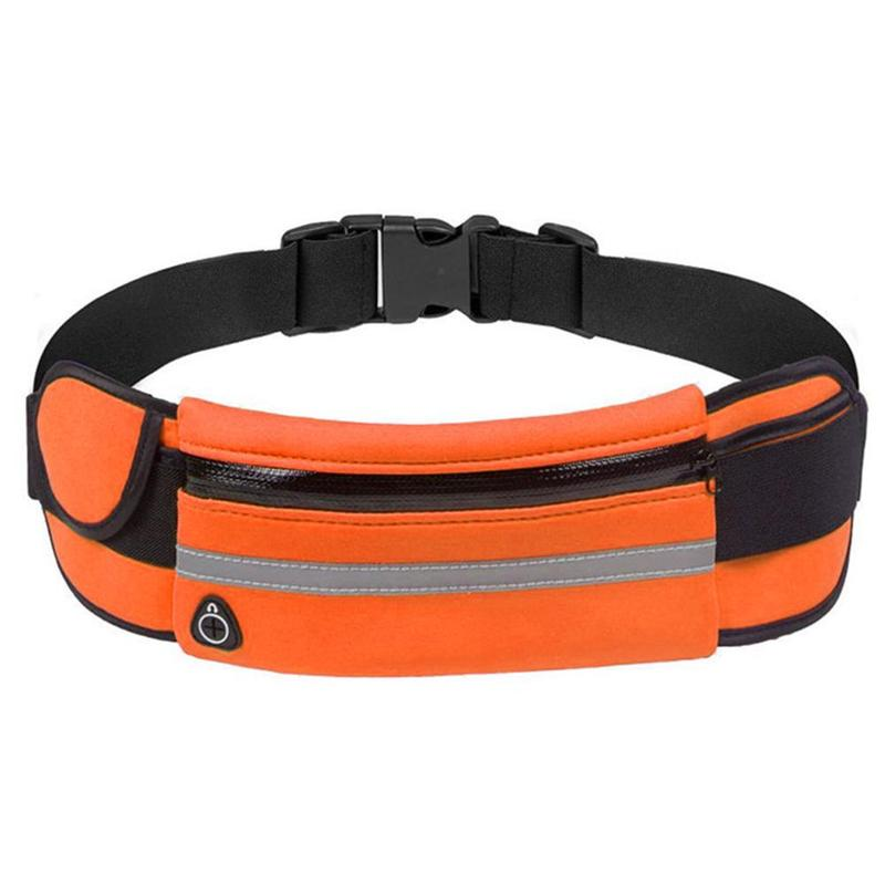 Men's Running Fanny Pack Sports Belt Bag Camping Cycling Waist Bags Phone Holder Running Accessories