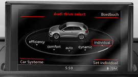 Audi A3 8V - Aktiveringsdokument Drive Select Automatic