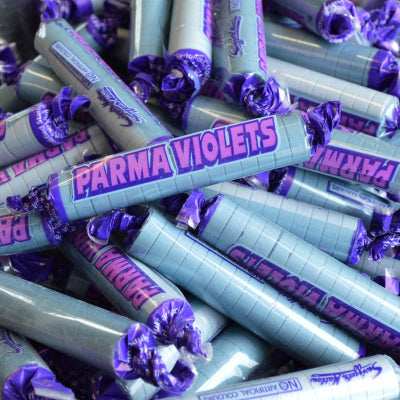 Parma Violets (500g), Bagged Sweets - Big Day Boutique