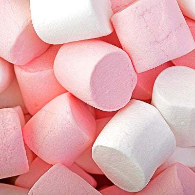 Pink & White Giant Marshmallows (200g), Bagged Sweets - Big Day Boutique