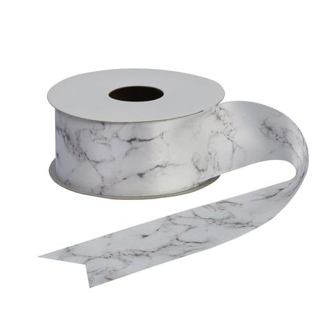 Marble Decorative Ribbon - 38mm, Ribbon - Big Day Boutique