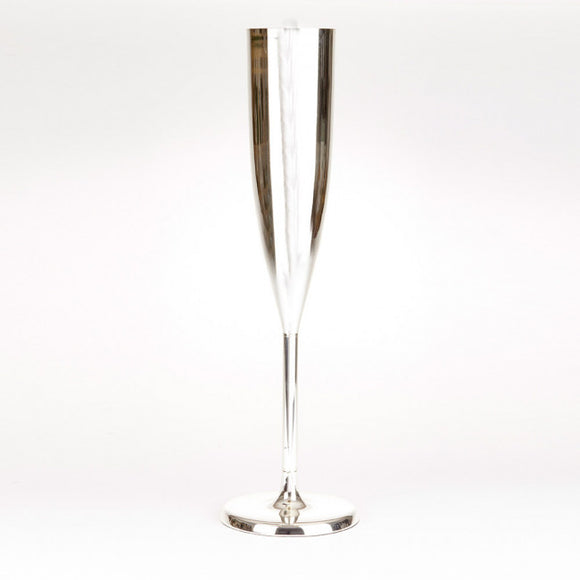 Large Silver Champagne Flute, centerpieces - Big Day Boutique