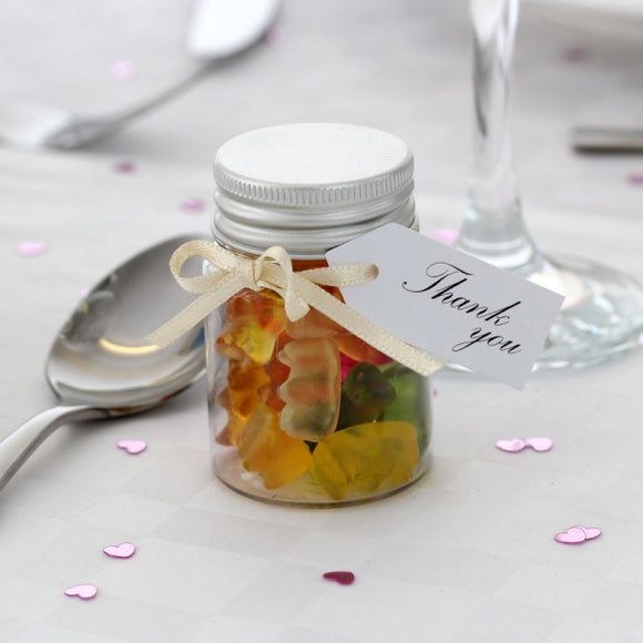Mini Jar of Teddy Bears, Favours - Big Day Boutique