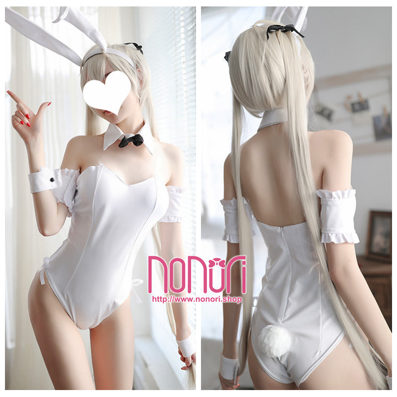 白色兎女郎ランジェリー/White Bunny Girl suit underwear