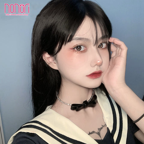 PUハート首輪チョーカーとチェーンブレスレット/Heart Neck Choker and chain Bracelet