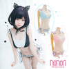 [NONORI] にくきゅう王姫+ニャオ~コニャオ~コマント/Cat claw Princess Underwear Set+Mew Mew Cat Hoodie Cloak Cape