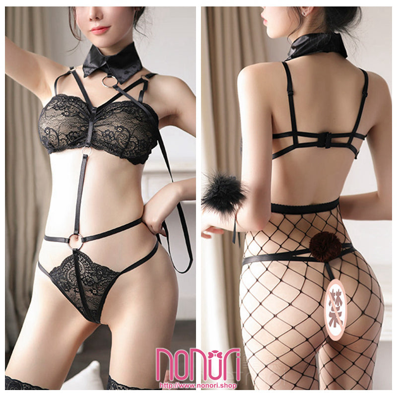 透明レース兎ランジェリー/Transparent Lace Rabbit underwear