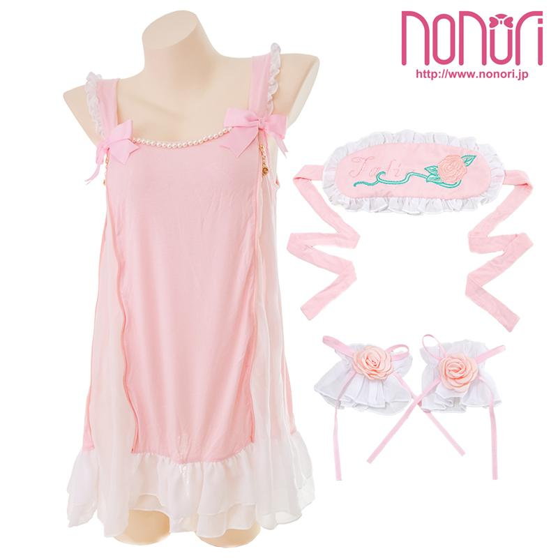 [NONORI]限定童話シリーズ--眠り姫ランジェリー7点セットThe princess in the night-Sleeping Beauty Lingerie Set - NONORI E-Commerce