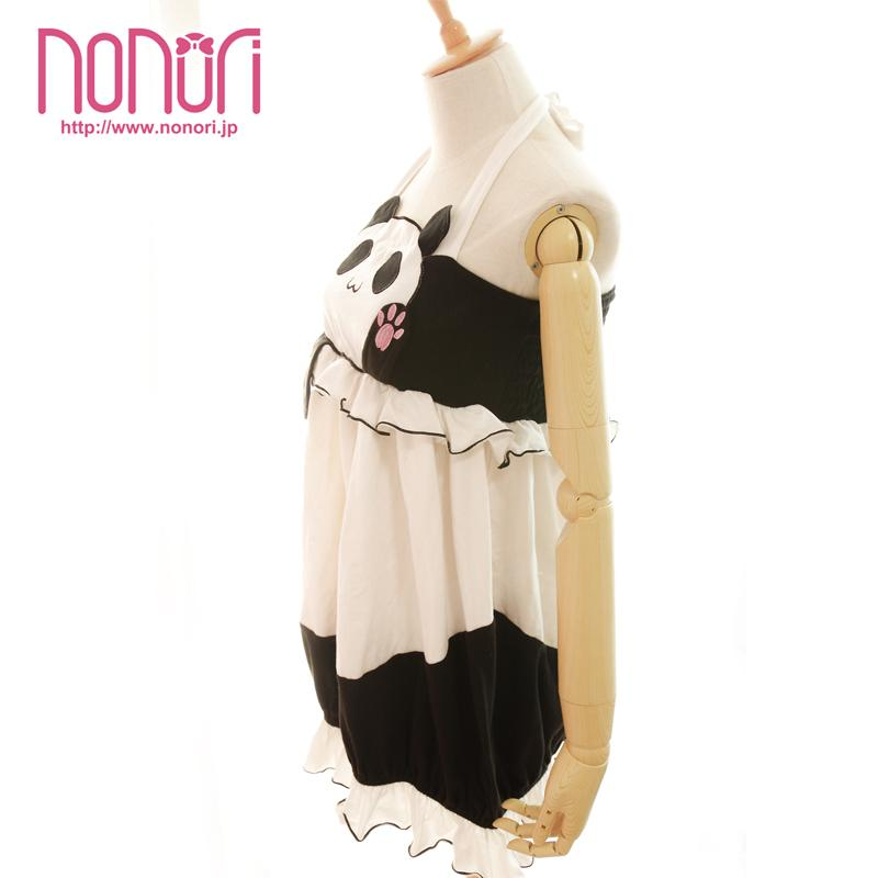 [NONORI]ぐるぐるパンワワネグリジェGURUGURU  PAN  PANDA Homewear - NONORI E-Commerce