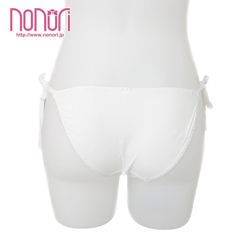 [NONORI]ひも蝶結び快適なパンツWhite Frenulum Undies - NONORI E-Commerce
