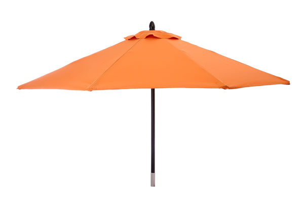 Restaurant Fiberglass Round Patio Umbrella - 9 Foot