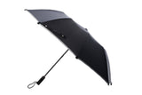 Commuter's Compact Umbrella With Reflective Trim