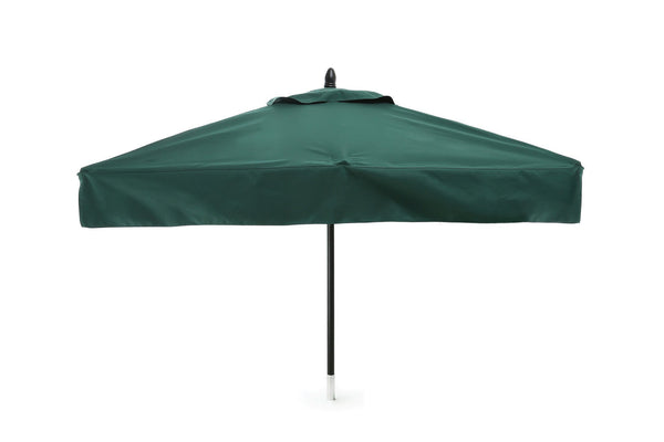 Pub/Cafe Fiberglass Square Patio Umbrella - 6 foot x 6 foot