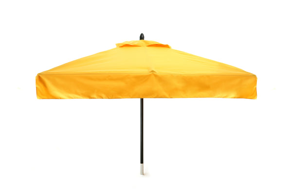 Cafe Fiberglass Square Patio Umbrella - 5 foot x 5 foot