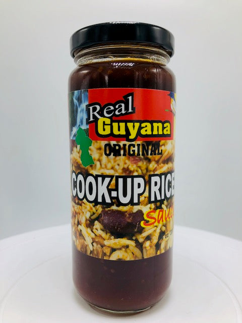 REAL GUYANA COOK-UP RICE SAUCE 12 OZ
