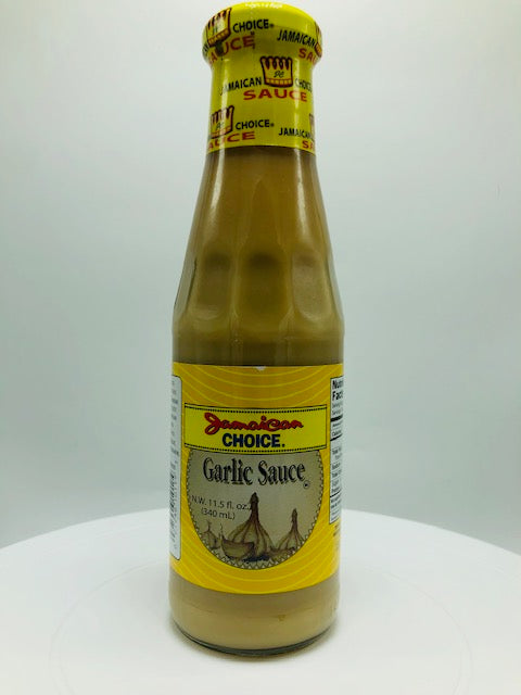 JAMAICAN CHOICE GARLIC SAUCE 11.5 OZ