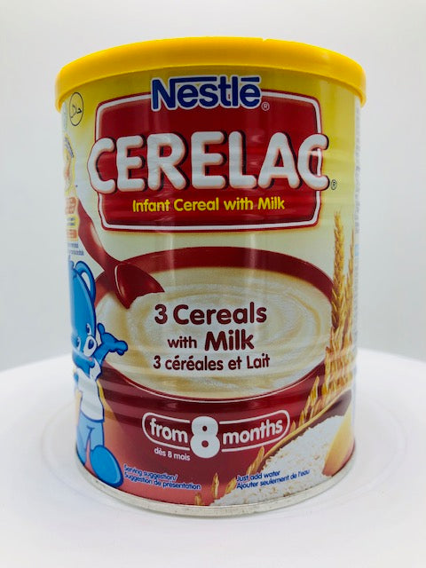 NESTLE CERELAC 3 CEREALS W/ MILK 400 G