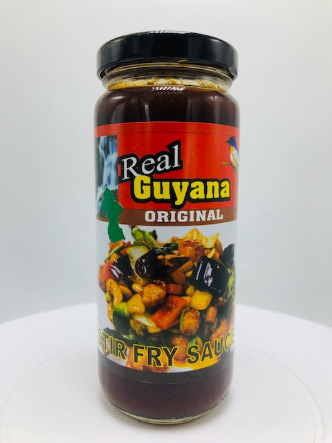 REAL GUYANA STIR FRY SAUCE 12 OZ