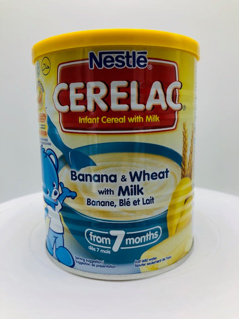 NESTLE CERELAC BANANA & WHEAT W/ MILK 400 G