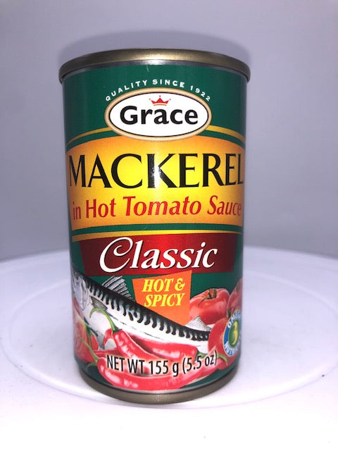 GRACE MACKEREL IN HOT TOMATO SAUCE 155 G