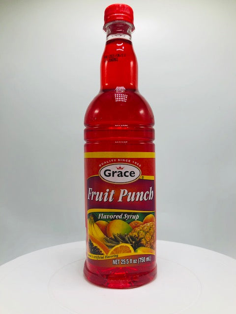 GRACE FRUIT PUNCH SYRUP 750 ML