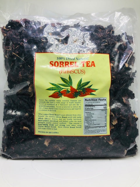 CLOVER SORREL (HIBISCUS) 100% DRIED NATURAL