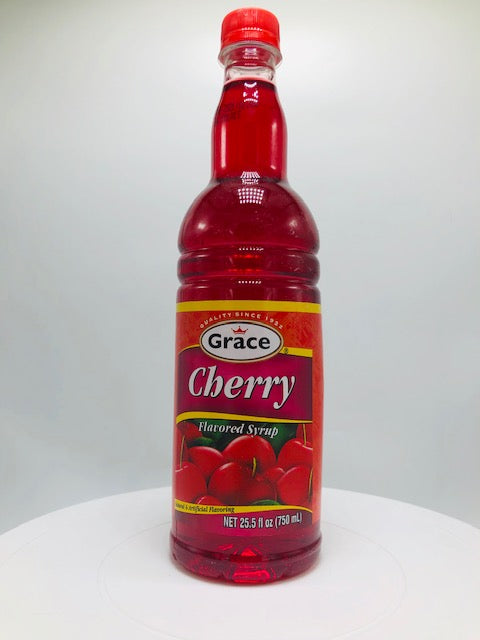 GRACE CHERRY SYRUP 750 ML