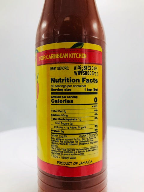 WALKERSWOOD FIRESTICK PEPPER SAUCE 6 OZ