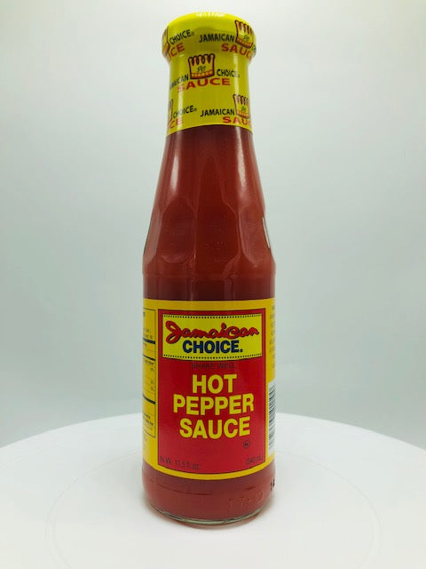 JAMAICAN CHOICE HOT PEPPER SAUCE 11.5 OZ