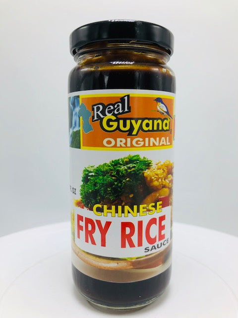 REAL GUYANA CHINESE FRY RICE SAUCE 12 OZ