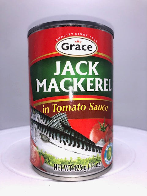 GRACE JACK MACKEREL IN TOMATO SAUCE 425 G