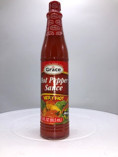 GRACE HOT PEPPER SAUCE 3 OZ