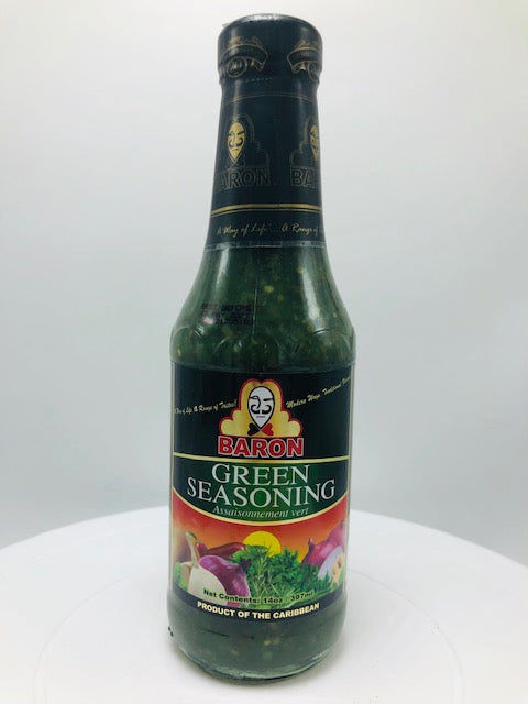 BARON GREEN SEASONING 14 OZ