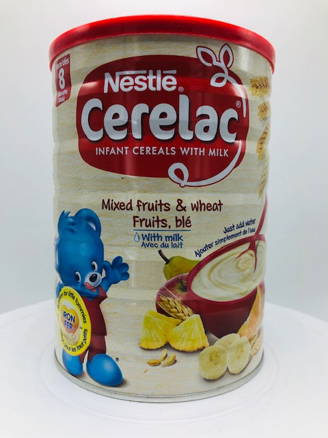 NESTLE CERELAC MIXED FRUITS & WHEAT FRUITS 1000 G