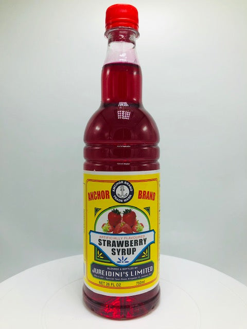 ANCHOR BRAND STRAWBERRY SYRUP 750 ML