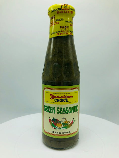 JAMAICAN CHOICE GREEN SEASONING 10 OZ