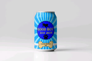 Good Boy Dog Beer-Available at Pop Ups Only