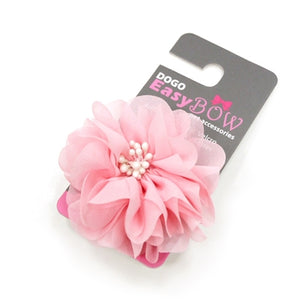 flower bow-velcro