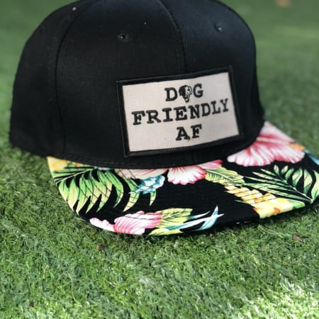 Dog Friendly Floral Snapback