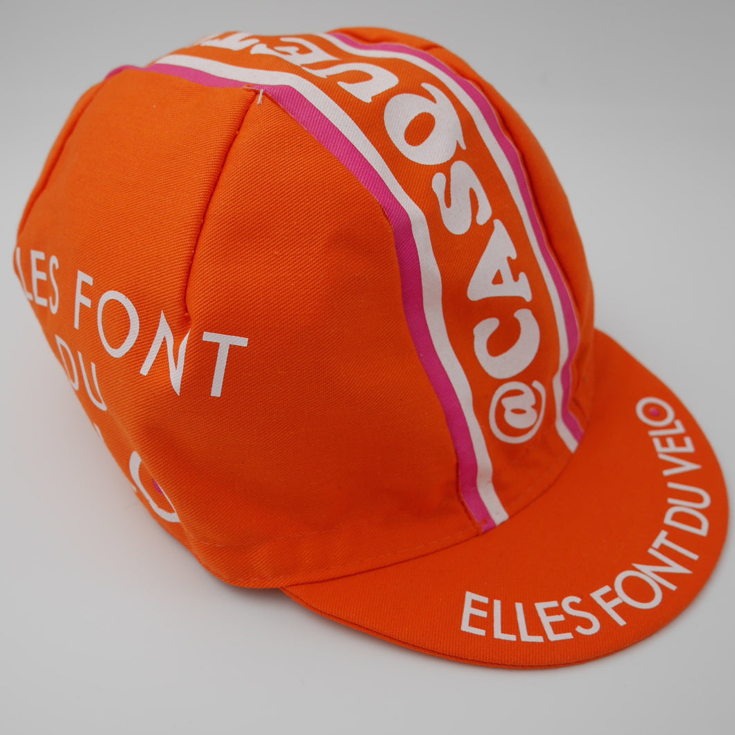 Casquette orange #EFDV