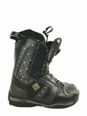 Salomon Lily Womens Brown Size 7.5 Leather Snowboard Boots