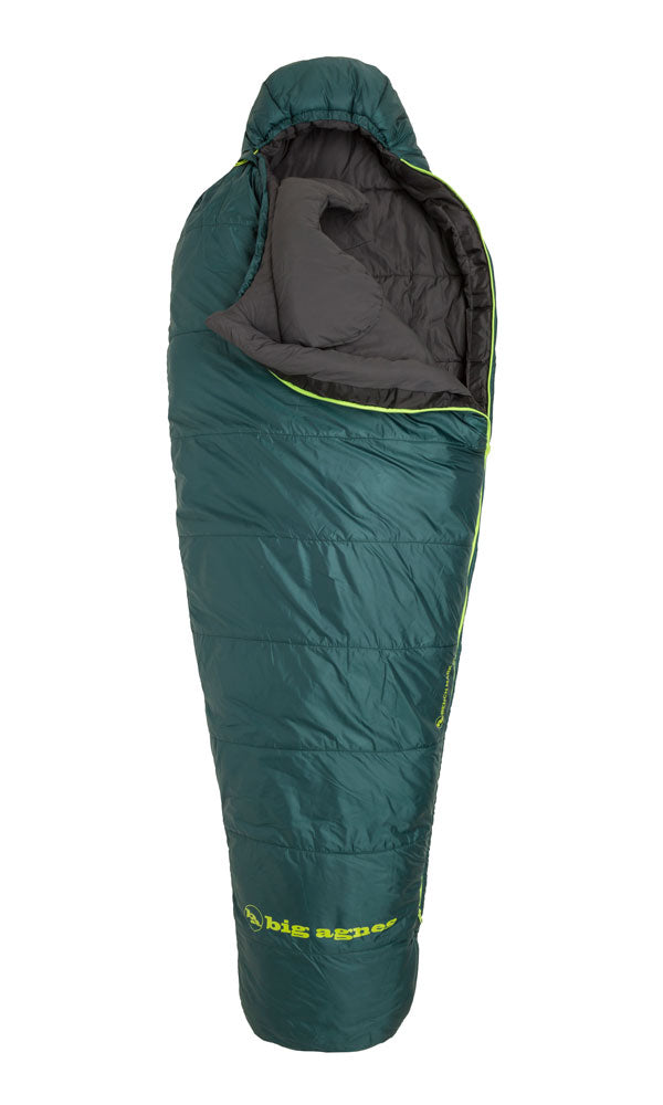 Big Agnes Benchmark 0 Mummy Sleeping Bag Rental