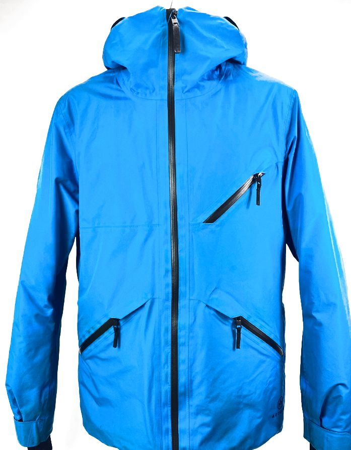 Aether Crest Mens Small (1) Glacier Blue Down Insulated/Waterproof Snow Jacket