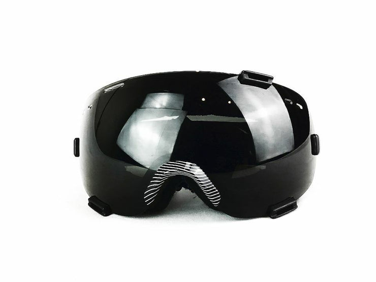 Zeal Eclipse Black One-Size Polarized Snow Goggles