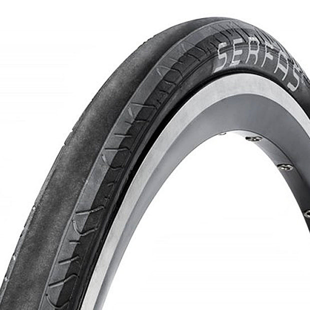 Serfas Seca Black/Gray Size 700x25c Road Cycling Wire Bead Bike Tire