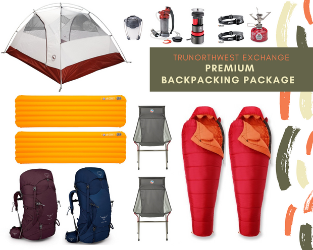 Premium Backpacking Rental Package