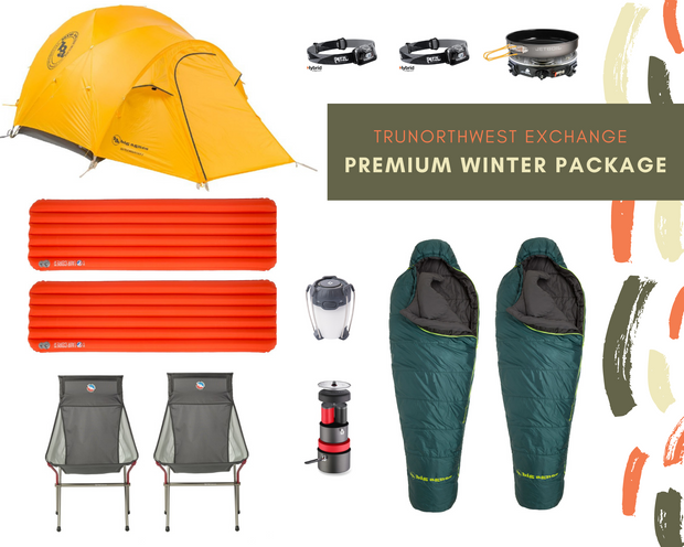 Premium Winter Camping Rental Package